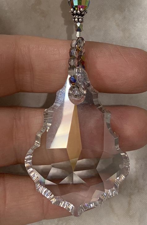 Gorgeous Swarovski Crystal with Pearls & Sparkle Artisan Necklace-