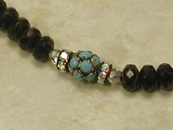 Kohl Elegance with Turquoise Bracelet!-