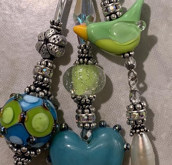 Birdie L💚VE TRIOS Artisan Necklace-