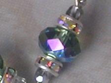 Beautiful Green Swarovski Crystal Swing Earrings-